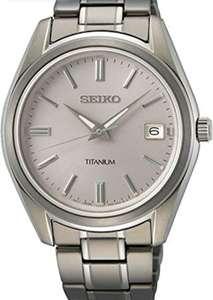 Seiko (Caja de titanio y cristal de zafiro)