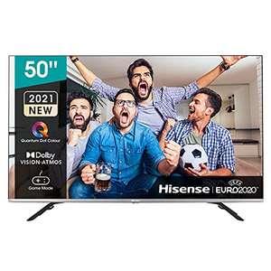 "Hisense 50E76GQ QLED 2021 Gaming Series, 50"" 4K UHD Dolby Vision HDR Smart TV con Youtube, Netflix,y Alexa Built-in, HDMI 2.1, Bluetooth"