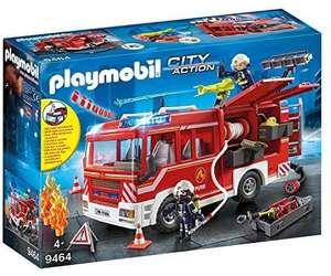 PLAYMOBIL City Action Camión de Bomberos con Luces y Sonido