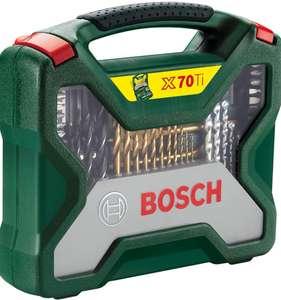 Bosch Maletín X-Line con 70 unidades para taladrar y atornillar (para madera, piedra y metal)