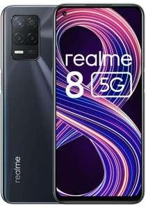 Realme 8 5G Libre, Procesador Dimensity 700 5G, Pantalla Ultra Smooth 90Hz, batería 5000mah, 48MPx, modo nocturno, Dual Sim, NFC, 4+64GB