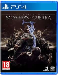 La Tierra Media: Sombras De Guerra [PS4]