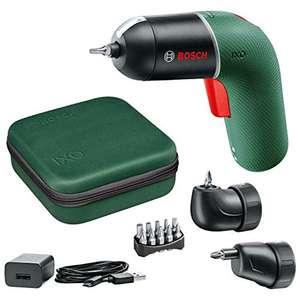 Bosch atornillador a batería IXO Set 6a gen. con adaptadores angular y excéntrico