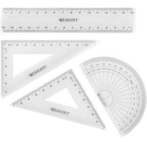 Set de 4 piezas geometría