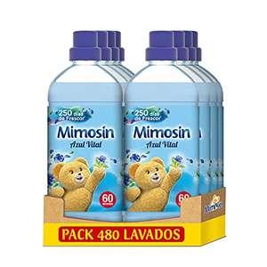 Pack 8x60 Lv Mimosin Suavizante Concentrado Azul Vital (Compra Recurrente)