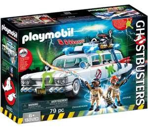 PLAYMOBIL Ghostbusters Ecto-1 con Módulo de Luz y Sonido y Marshmallow también en el interior