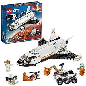 LEGO 60226 City Lanzadera Científica a Marte, Set de Construcción para Niños 5 años con Mini Figuras de Astronautas