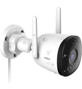 Cámara de Vigilancia WiFi con Visión Nocturna de 30m a Prueba de Agua y Polvo, Imou Cloud/Ranura para Tarjetas SD, Work with Alexa