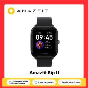 Amazfit BIP U desde España (5 de septiembre 10:00h.)