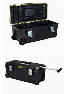 STANLEY FATMAX - Caja de Herramientas FatMax de 71cm con ruedas y asa telescópica
