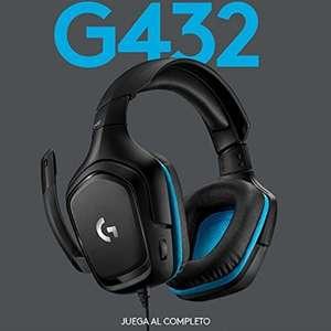 Cascos Gaming Logitech G432 - 7.1 - con micro