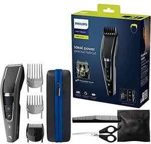Philips HC7650/15 - Cortapelos con cuchillas de titanio, 3 peines-guía 28 ajustes de longitud