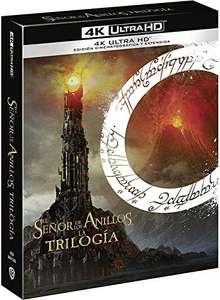 Trilogía El Señor de los Anillos versión extendida 4k UHD