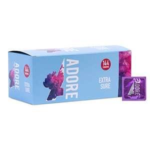 Pasante Adore Extra Sure Preservativos, pack de 144 unidades