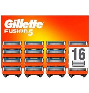 Gillette fusión recambios 16und