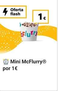 Mini McFlurry a 1€