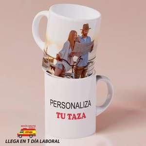 Taza personalizable con tu foto (Desde España)