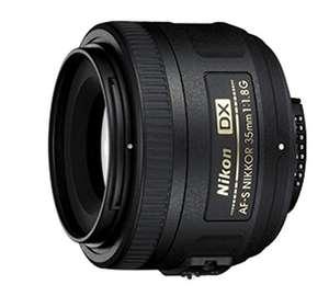 Objetivo Nikon 35mm 1.8 (COMO NUEVO)