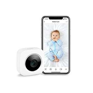 Cámara interior de seguridad, 1080p, detección de movimiento, wifi, para bebés