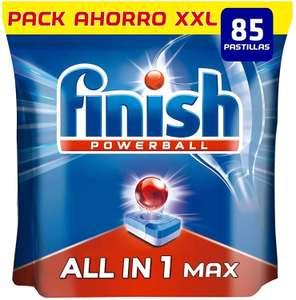 Finish Powerball 85 pastillas solo 12.1€