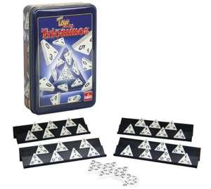 Juego de mesa Triominos viaje caja metálica