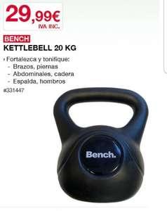 "Pesa rusa ""Kettlebell"" 20kg (socios)"