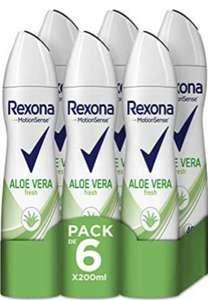 Recopilación desodorantes Rexona PACKS DE 6 X 200ml