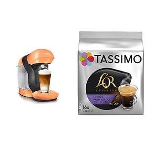 Bosch TASSIMO, Cafetera de Cápsulas + 5 paquetes de 16 cápsulas