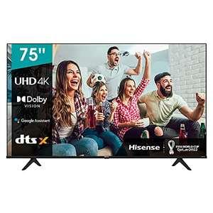 "Hisense 75A66G Smart TV (75"") UHD 4K, Dolby Vision HDR 10/ HDR 10"