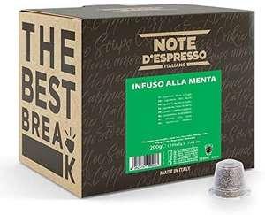 Note d'Espresso - Menta Poleo - Cápsulas compatibles con Cafeteras de Cápsulas Nespresso* - 100 caps