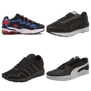Zapatillas deportivas marcas para adultos por menos 39 euros. Tallas sueltas.