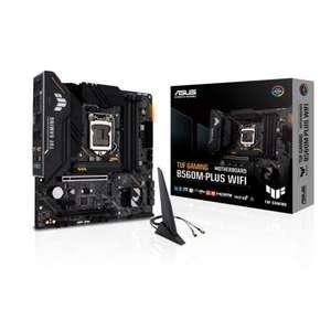 ASUS TUF Gaming B560M-PLUS WiFi - Micro ATX (Intel B560 VRM de 8+1 Fases, PCIe 4.0, M.2)