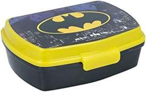 Sandwichera Batman Para Niños Decorada - Fiambrera Infantil