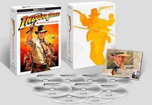 Colección películas Indiana Jones Blu-Ray 4K