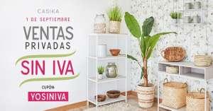 1 de Septiembre día sin IVA! En Casika.es