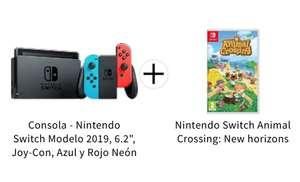 Nintendo Switch 2019 Neón + Animal Crossing