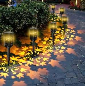 6 Luces solares de Jardín