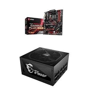 Placa Base MSI B450 Gaming Plus MAX + PSU MPG A750GF 750w , 80+gold , MODULAR