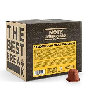 Note d'Espresso - Manzanilla con Miel y Naranja - Cápsulas compatibles con Cafeteras NESPRESSO* - 100 caps