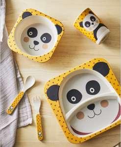 Set de vajilla infantil - Panda