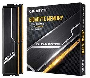 Gigabyte GP-GR26C16S8K2HU41 - Kit modulo DDR4 de 16 GB (2x8 GB, 2666 MHz) Color Negro