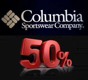 50% DTO en Columbia en ECI (Chaquetas, Camisetas, Pantalones....)
