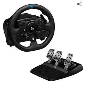 """Logitech G923 TRUEFORCE Xbox/PC Volante de Carreras y Pedales (Reaco """"como nuevo"""")"""