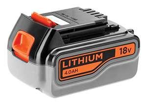 Batería de repuesto para Black&Decker 4AH - 18v por casi la mitad de su precio!