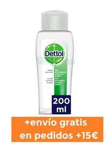 Envío gratis + gel desinfectante 200 ml GRATIS en pedidos +15€