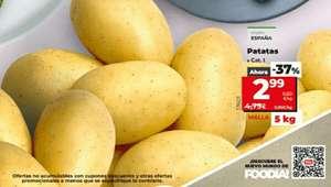 5Kg de patatas en tiendas Dia del 29/9 al 5/10