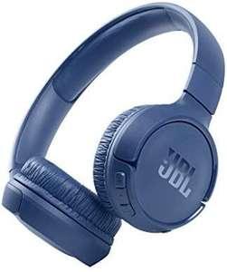 JBL Tune 510BT - Auriculares supraaurales inalámbricos con conexiones multipunto y asistente de voz, batería de 40 h, Azul