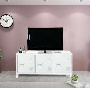 Mueble TV auxiliar estilo industrial desde 89,9€ (dos colores)