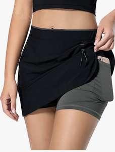 Faldas Pantalón de Tenis para Mujer con 3 Bolsillos