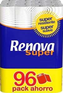 Renova Papel Higiénico Super   96 Rollos
